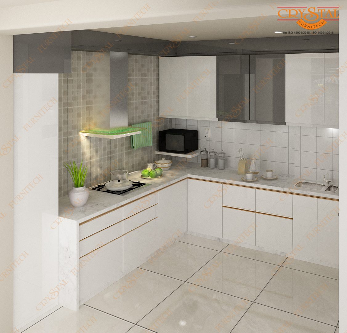 Get Enticed by Varied Types of Modular Kitchen Cabinets